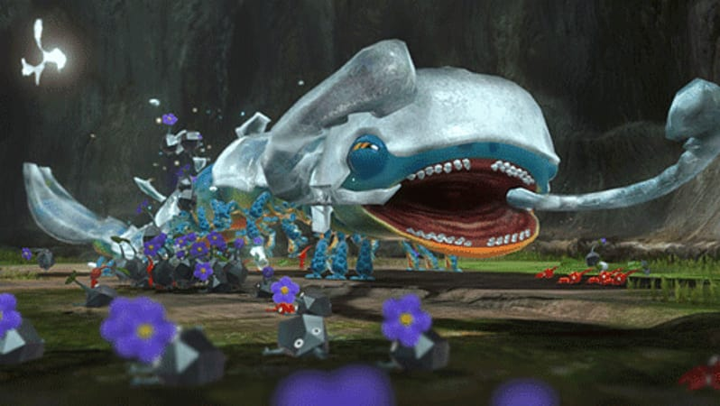Toguh boss battles return in Pikmin 3 for Wii U at GAME