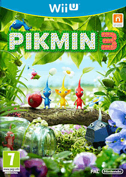 Pikmin 3 Wii U Cover Art