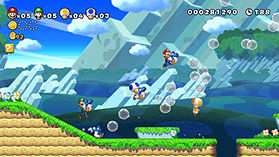 New Super Mario Bros. U screen shot 3