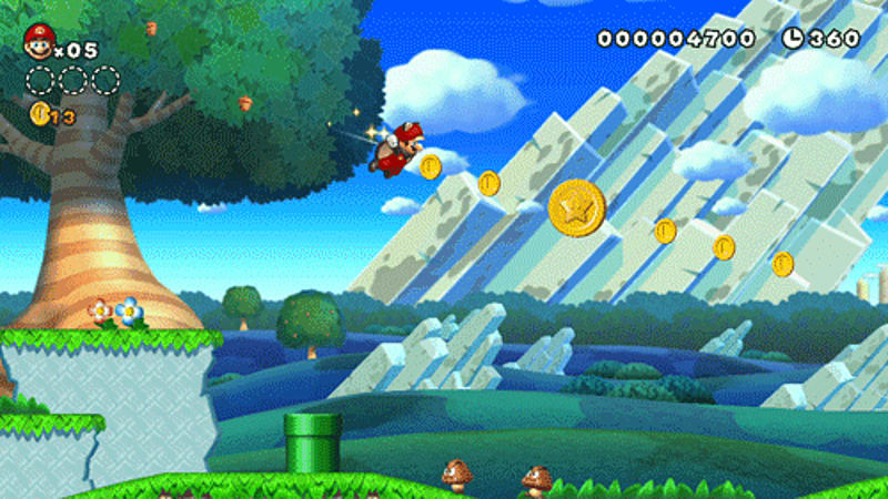 New Super Mario Bros. U for Wii U Review at GAME