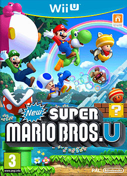 New Super Mario Bros. U Wii U Cover Art