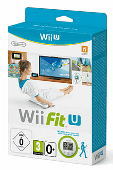 Wii Fit U with Wii Fit U Meter Wii-U Cover Art