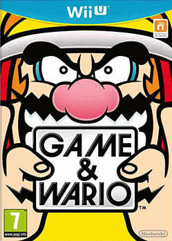 Game & Wario Wii U Cover Art