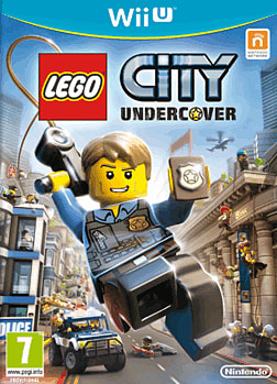 LEGO City: Undercover Wii U Cover Art