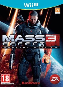 Mass Effect 3: Special Edition Wii U Cover Art