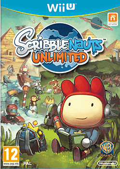 Scribblenauts Unlimited Wii U Cover Art