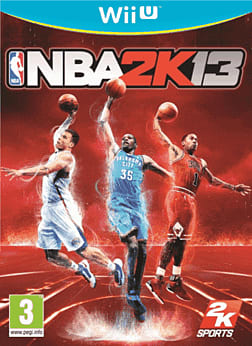 NBA 2K13 Wii U Cover Art