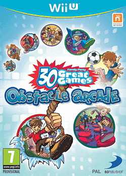 Family Party: 30 Great Games: Obstacle Arcade Wii U Cover Art