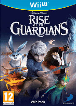 Rise of the Guardians: The Video Game Wii U Cover Art