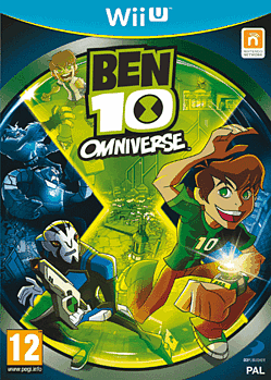 Ben 10 Omniverse Wii U Cover Art