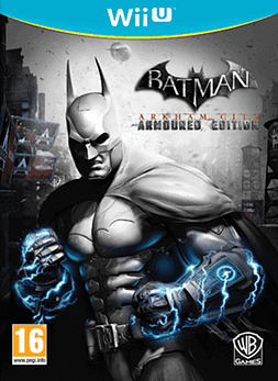 Batman: Arkham City - Armoured Edition Wii U Cover Art