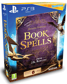 Wonderbook: Book of Spells PlayStation-3 Cover Art