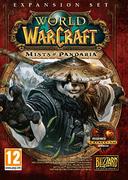 World of Warcraft: Mists of Pandaria PC Games Cover Art