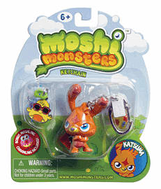 Moshi Monsters Keychain Accessories