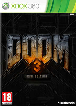 Doom 3 - BFG Edition Xbox 360 Cover Art