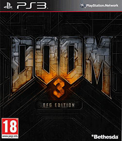 Doom 3 - BFG Edition PlayStation 3 Cover Art