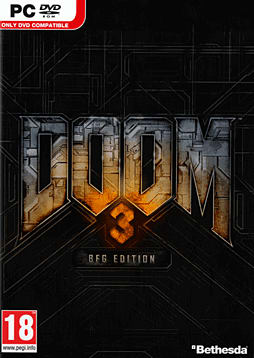 Doom 3 - BFG Edition PC Games Cover Art