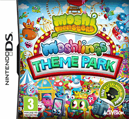 Moshi Monsters: Moshlings Theme Park DSi and DS Lite Cover Art