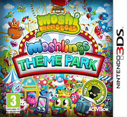 Moshi Monsters: Moshlings Theme Park 3DS Cover Art