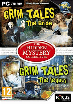 Grim Tales 1 & 2 - The Hidden Mystery Collectives PC Games Cover Art