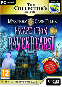 Mystery Case Files: Escape from Ravenhearst Collector's Edition PC Games Cover Art