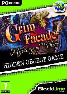 Grim Façade: Mystery of Venice PC Games Cover Art