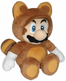 Super Tanooki Mario Plush Toys and Gadgets