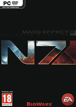 Mass Effect 3: N7 Digital Deluxe Edition PC Games Cover Art