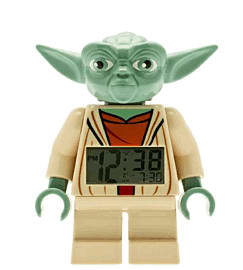 LEGO Star Wars Yoda Minifigure Clock Toys and Gadgets 