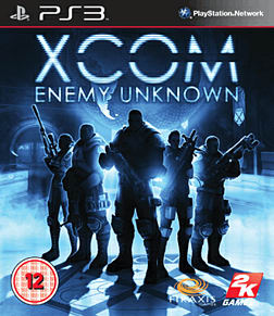 XCOM: Enemy Unknown PlayStation 3 Cover Art