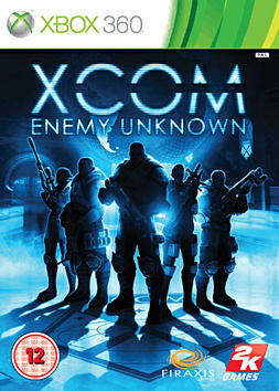 XCOM: Enemy Unknown Xbox 360 Cover Art