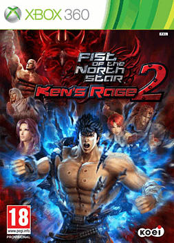 Fist of the North Star: Ken's Rage 2 Xbox 360 Cover Art