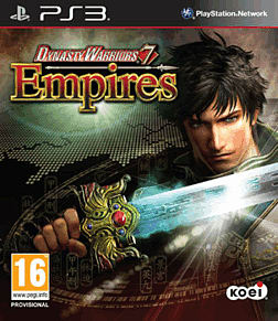 Dynasty Warriors 7: Empires PlayStation 3 Cover Art