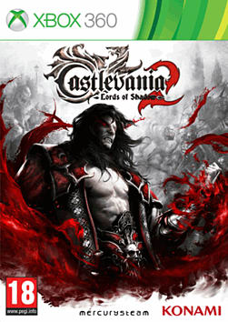Castlevania: Lords of Shadow 2 Xbox 360 Cover Art