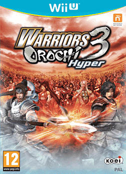 Warriors Orochi 3 Wii U Cover Art