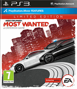 Need for Speed: Most Wanted - Limited Edition PlayStation 3 Cover Art