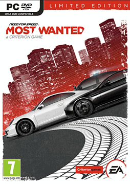 Need for Speed: Most Wanted - Limited Edition PC Games Cover Art