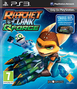 Ratchet and Clank: Q Force PlayStation 3 Cover Art