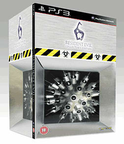 Resident Evil 6 GAME Exclusive Collector's Edition Sony PS3 Cover Art