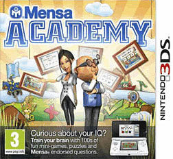 Mensa Academy 3DS Cover Art