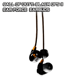 Turtle Beach Ear Force Call of Duty: Black Ops II Earbuds Accessories