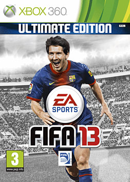 FIFA 13 Ultimate Edition (Kinect Compatible) Xbox 360 Cover Art