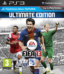 FIFA 13 Ultimate Edition PlayStation 3 Cover Art