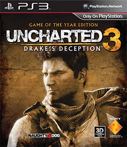 Uncharted 3: Drake's Deception Game of The Year Edition PlayStation 3 Cover Art