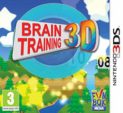 Brain Training 3D 3DS Cover Art