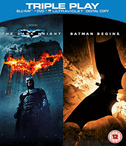 Batman Begins and The Dark Knight Double Pack Triple Play Blu-Ray Blu-Ray
