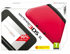 Nintendo 3DS XL Red 3DS
