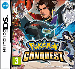 Pokemon Conquest DSi and DS Lite Cover Art