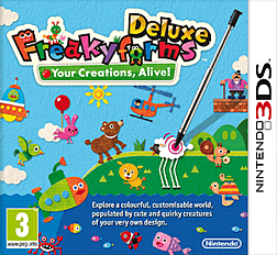 Freakyforms Deluxe 3DS Cover Art