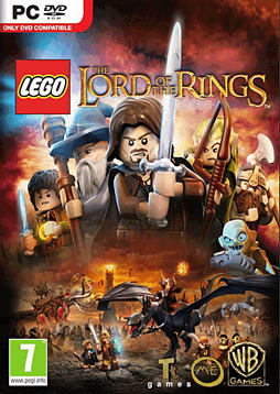 LEGO Lord of the Rings PC Games Cover Art